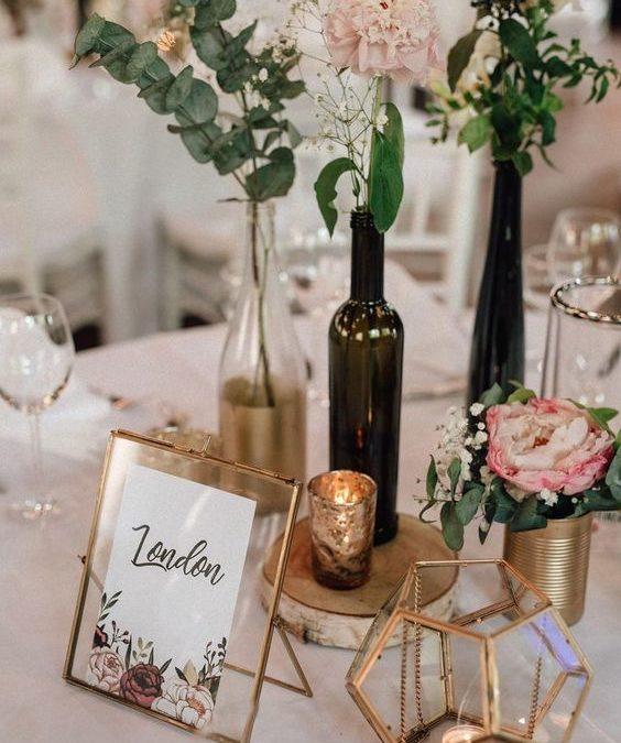 Tendencias en decoración para tu boda