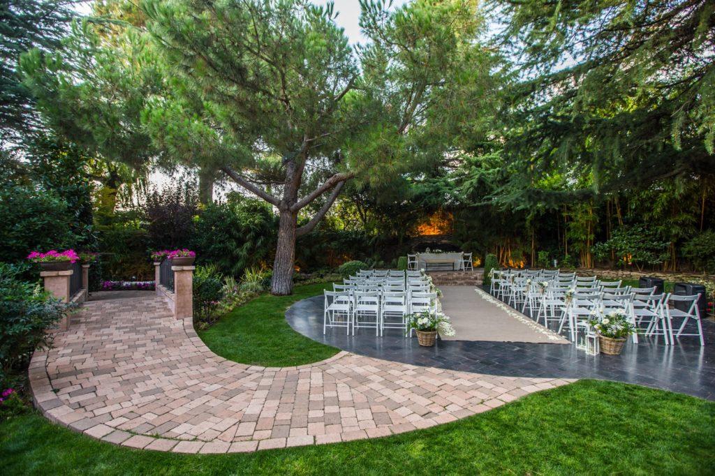 jardines para bodas madrid