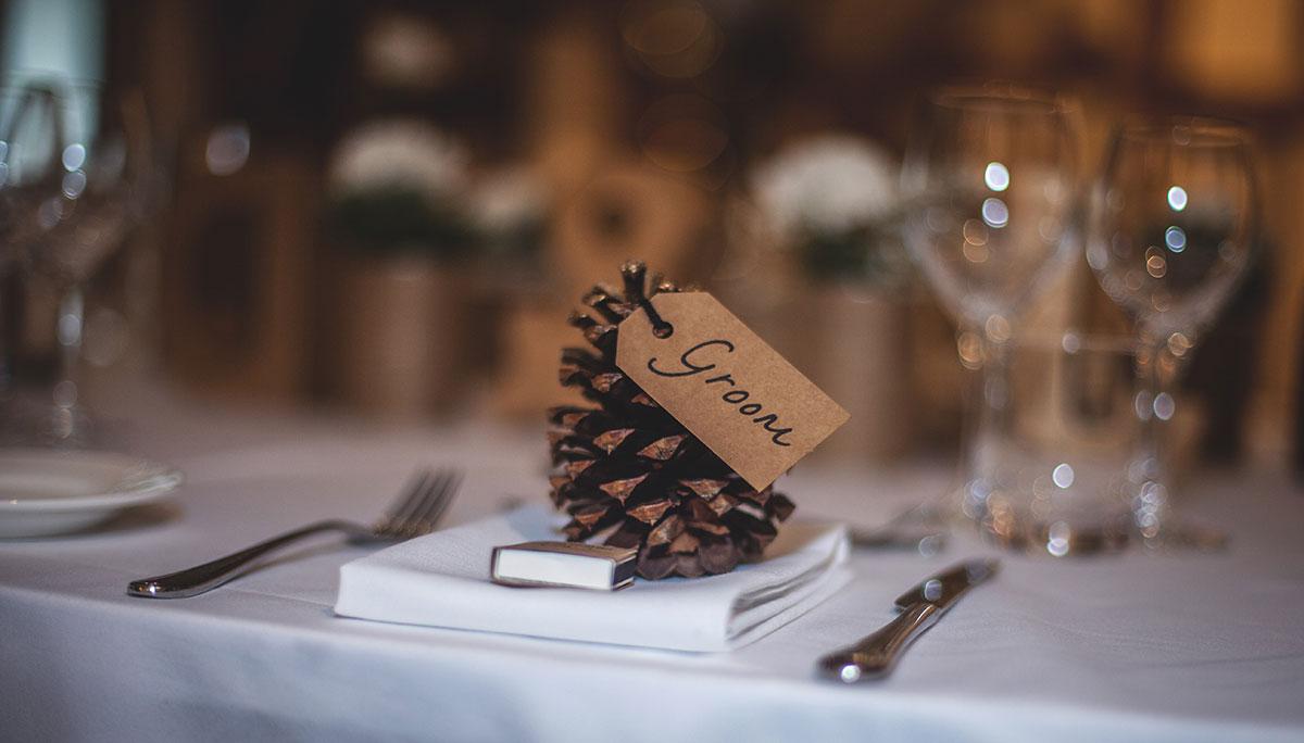 Decoración bodas de otoño