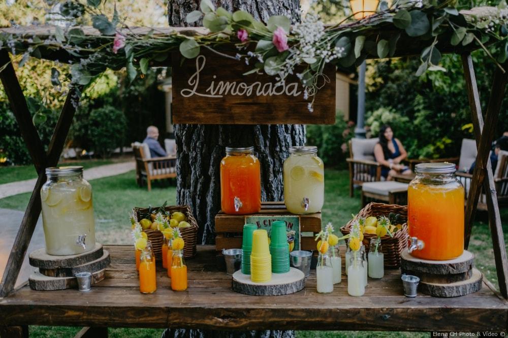 cocktails refrescantes bodas
