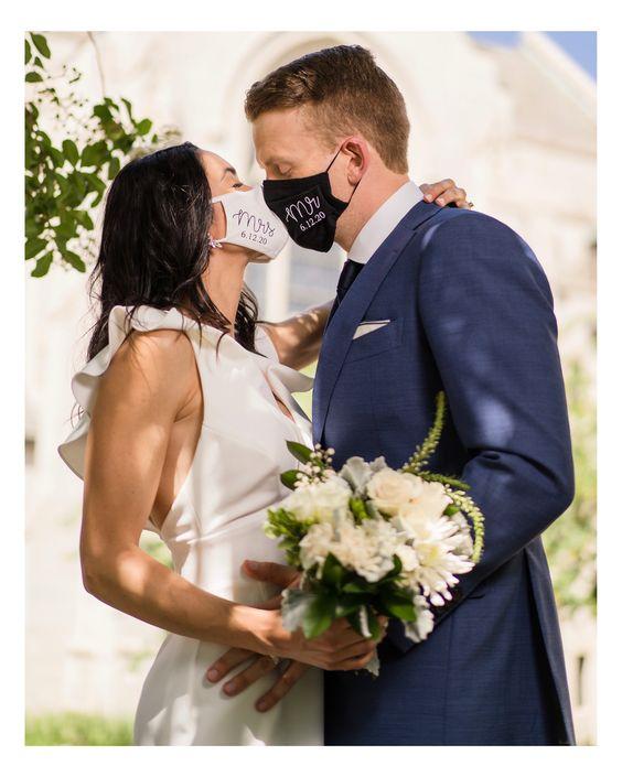 mascarillas par bodas